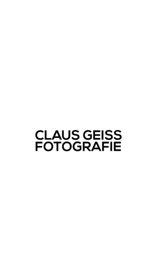 Claus Geiss Website Frontend