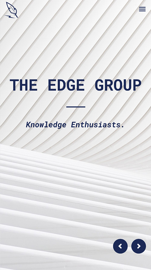 The Edge Group Website Frontend